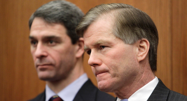 Ken Cuccinelli and Bob McDonnell: Birds of a feather? (AP Photo)