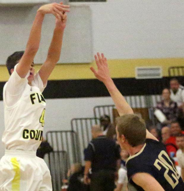 Justin Conduff:  Four three pointers.