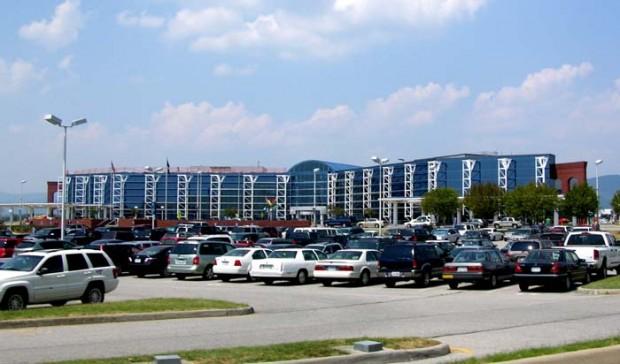 The soon-to-be Roanoke-Blacksburg Regonal Airport.
