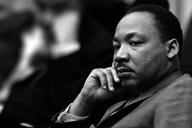 Dr. Martin Luther King (photo courtesy of Wikipedia)
