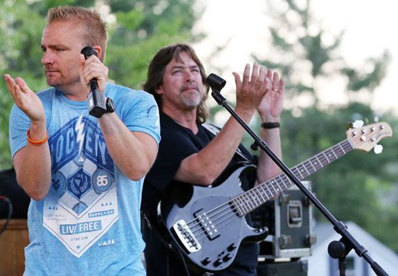 The WORX at the Ignite Floyd Concert last year.