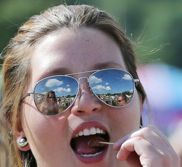 FloydFest through her eyes. (All photos by Doug Thompson)