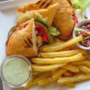 Canadian Barbeque Chicken Sandwich