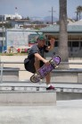 Big Air: Skateboarder at Venice Beach