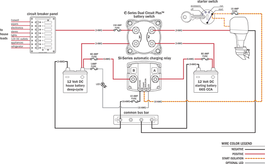 marine battery selector switch wiring diagram wiring diagram dual battery selector switch boat wiring easy to install