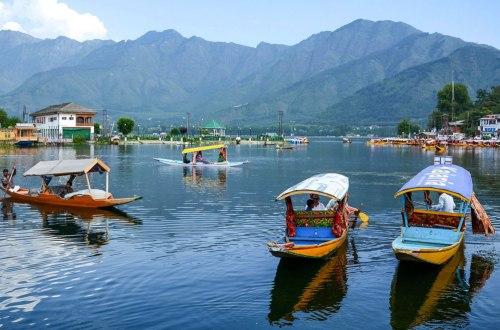 Kashmir honeymoon