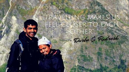 Couple's travel stories