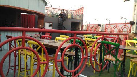 terrace restaurants in west delhi