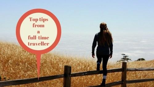 single woman traveller
