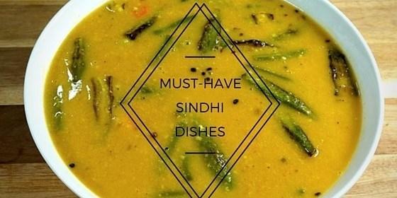 must have sindhi food