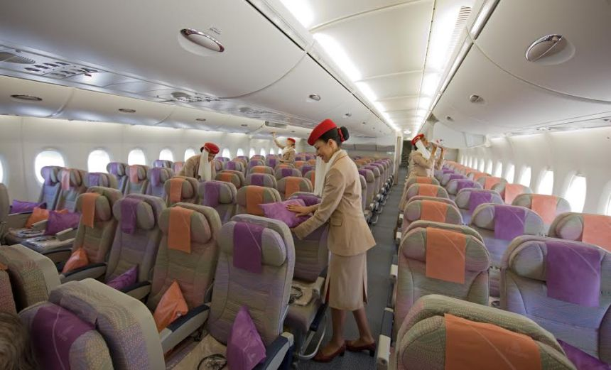 Emirates flight review