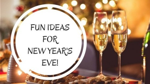 ideas for new years party at home