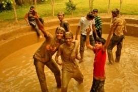 1 mud bath
