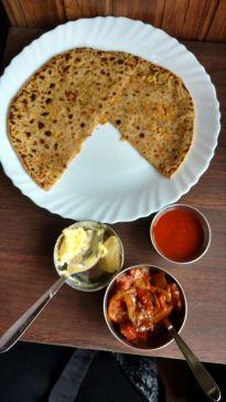 Simple Indian food Rishikesh