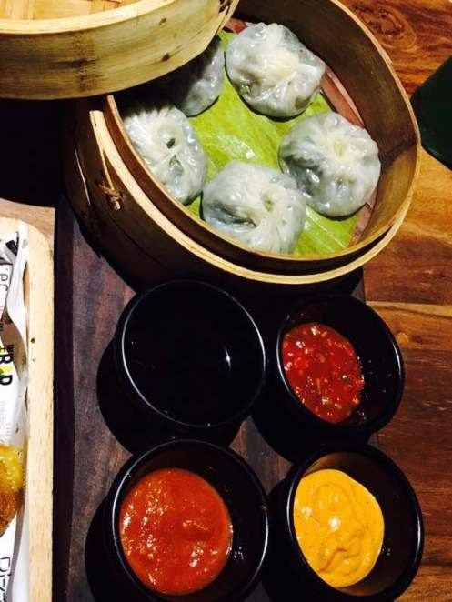 good vegetarin dimsums delhi