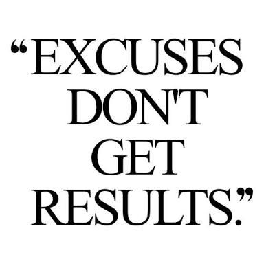 Exercise excuse