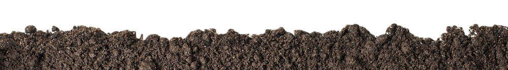 soil cross-section relating to soil particle size
