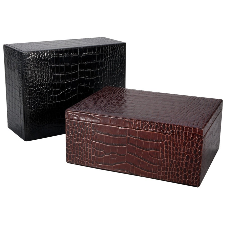 Leather Storage Box The Classy Groomsmens Gift By Blue