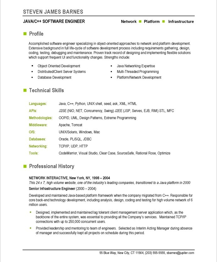 Developer Free Resume Samples Blue Sky Resumes