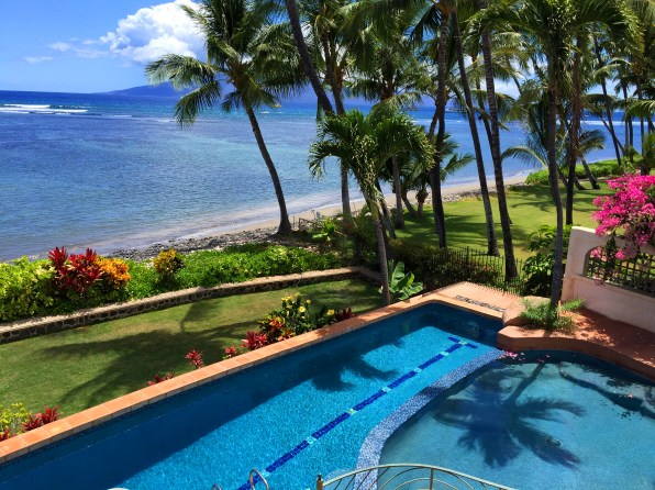 Blue Sky Villa on the beach in Maui