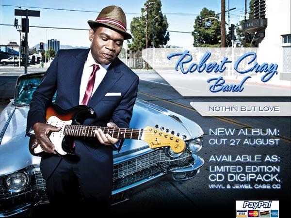Robert Cray - pre order your album