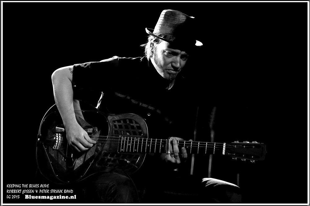 Keeping The Blues Alive - Robbert Fossen en Peter Struijk Band - 24-11-2013 (15)