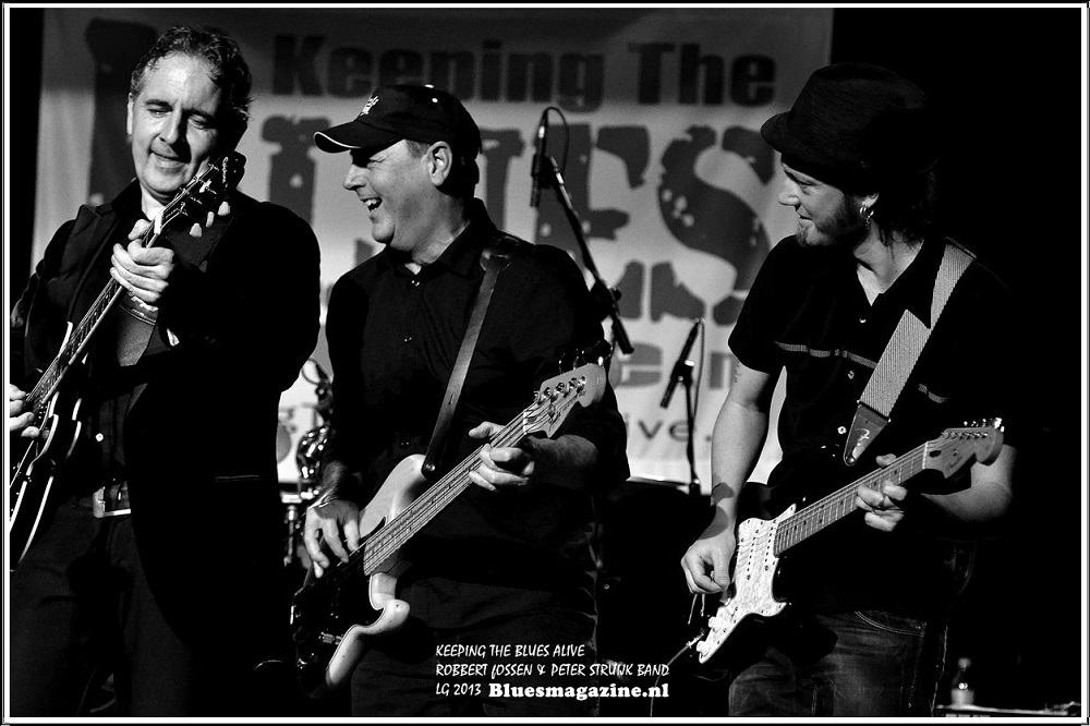 Keeping The Blues Alive - Robbert Fossen en Peter Struijk Band - 24-11-2013 (7)