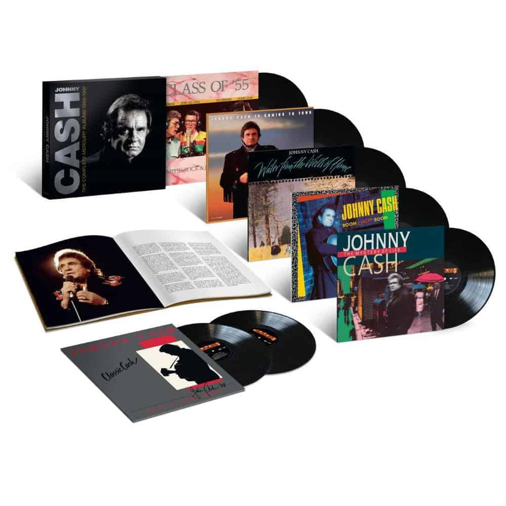 Johnny Cash LP set Complete Mercury Albums 1986-1991