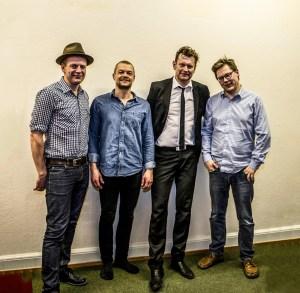 The Pocket Players: Henrik Poulsen, Søren Poulsen, Ole Bech, Palle Hjorth