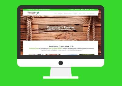 Web Carpintería Eguren