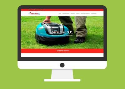 Página Web Servimaq