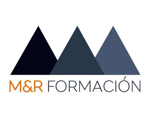 Diseño de logotipo para M&R Formación