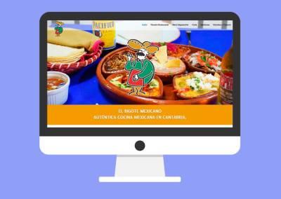 Página Web El Bigote Mexicano Liérganes