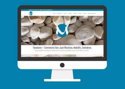 Página Web Tanatorio – Crematorio San Juan Bautista