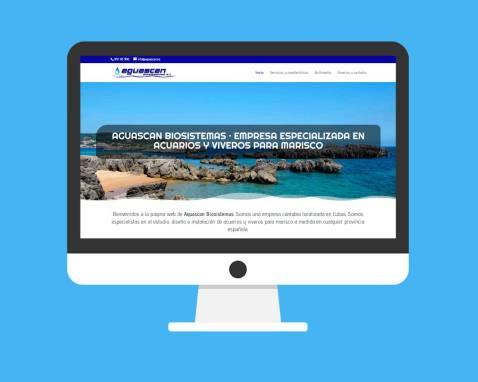 Página Web Aguascan Biosistemas