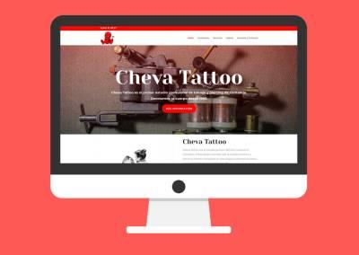 Página Web Cheva Tattoo