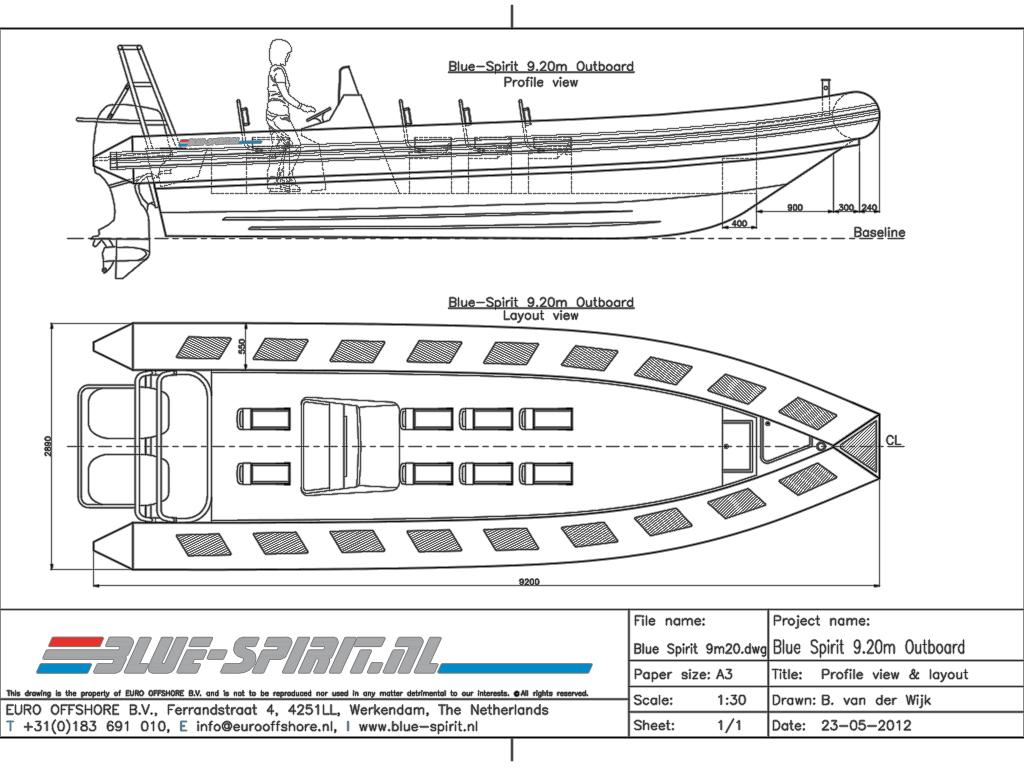 Blue Spirit Patrol 9m20 Blue Spirit Boats