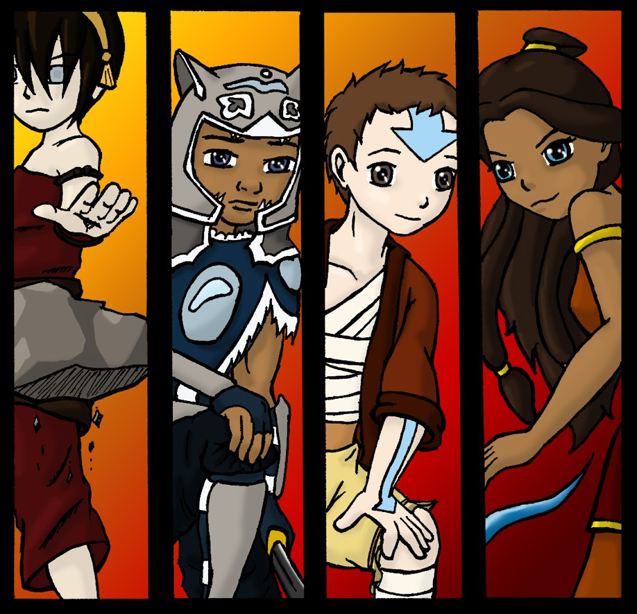avatar the last airbender free printables downloads and coloring
