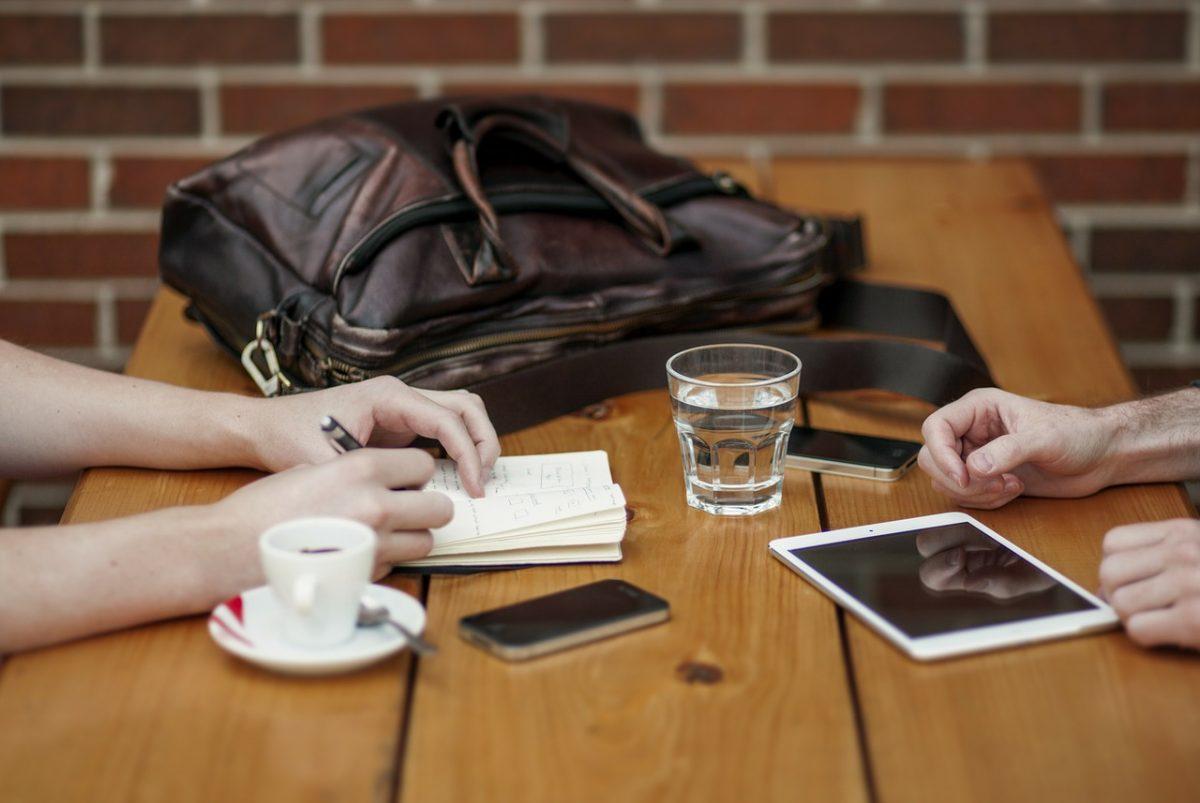 meeting a recruitment agency