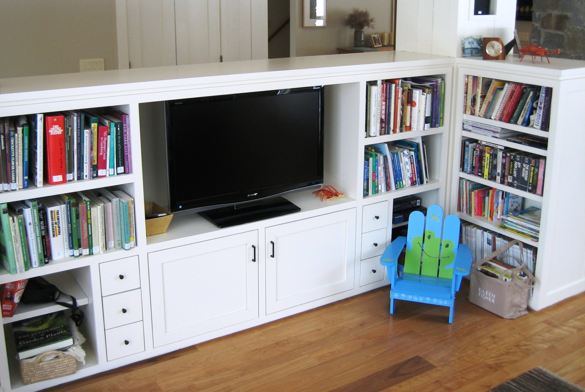 Entertainment center, custom entertainment centers maine
