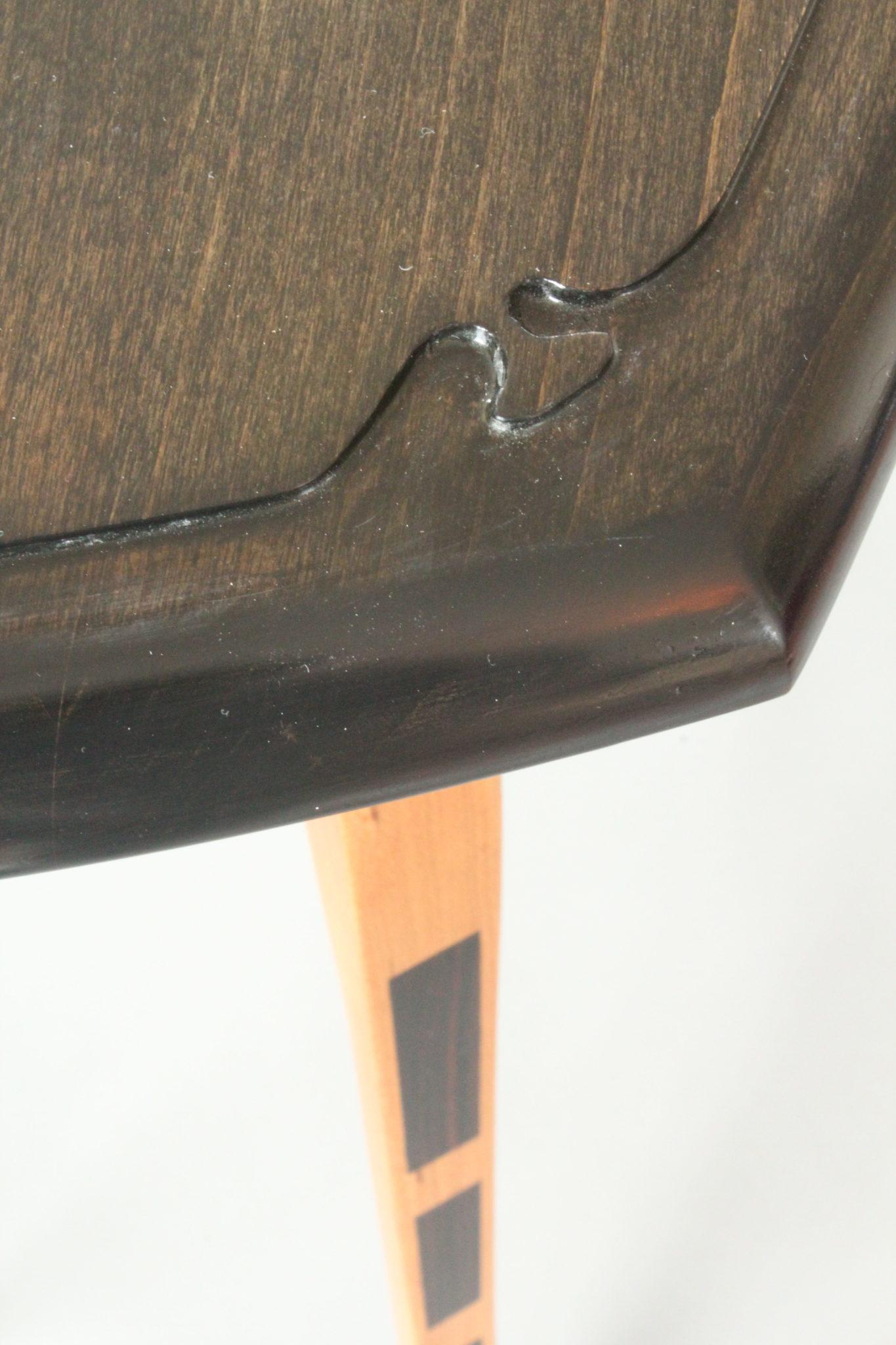 Hand carved furniture, custom made furniture, furniture maker Rockport Maine