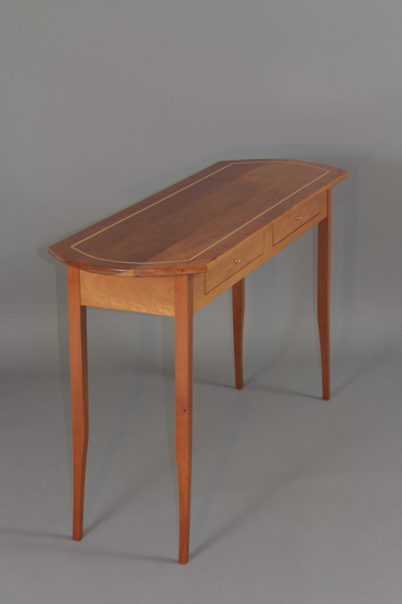 Hall table-furniture maker maine-Fine furniture Camden Maine-custom furniture