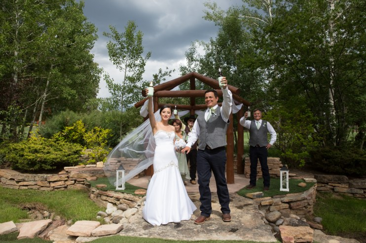 Colorado Wedding Photography Services   Blue Spruce Wedding Photo   Olivia & Jesse