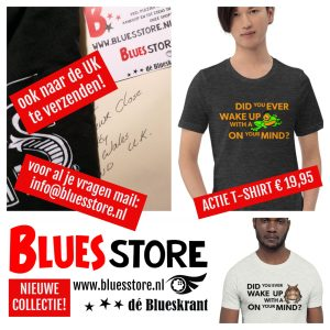 Dé Blues Store overzee!
