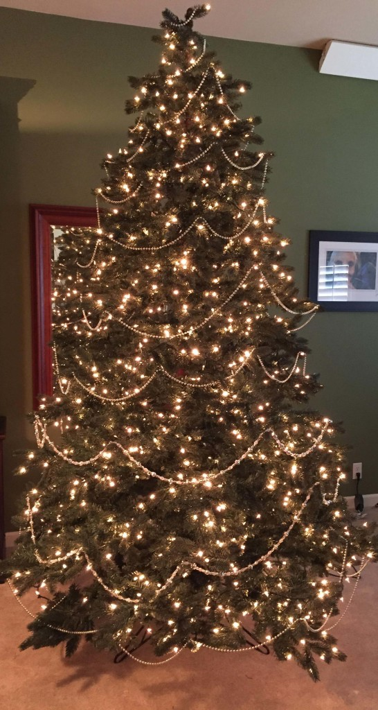 Gold Christmas Trees Pre Lit