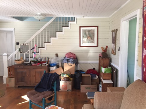 Before: The Highland County Farmhouse Living Room