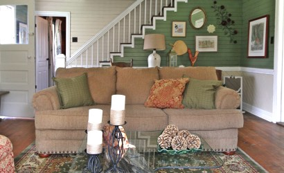 The Farmhouse Living Room in Blue Grass, VA
