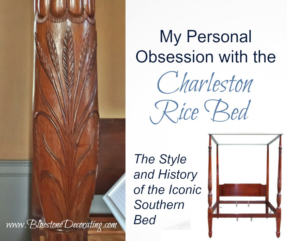 My Personal Obsession with the Charleston Rice Bed