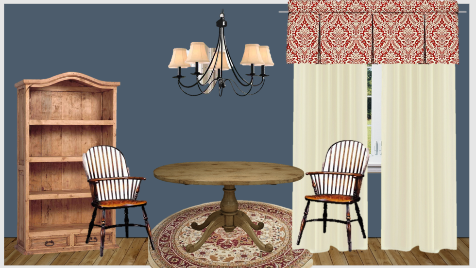 Mood Board of Game Room in Farmhouse