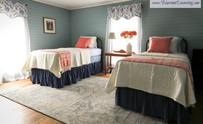 The Farmhouse Twin Bedroom in Blue Grass, VA